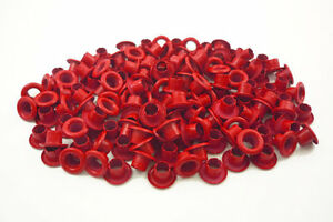 150pcs-4mm-5-32-034-Red-Round-EYELET-Scrapbooking-CARD-Crafts-Grommets-Leather-E073