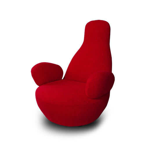 Refreshingly different: comfortable Cashmere Lounge Armlehn Chair in various colours
