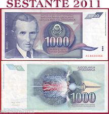 YUGOSLAVIA - 1.000 1000  DINARA 1991 -  P  110  -   SPL++ / QFDS ;    XF++/ AUNC