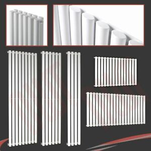 Brecon Oval Tube Designer Radiators Single /& Double Horizontal /& Vertical Models