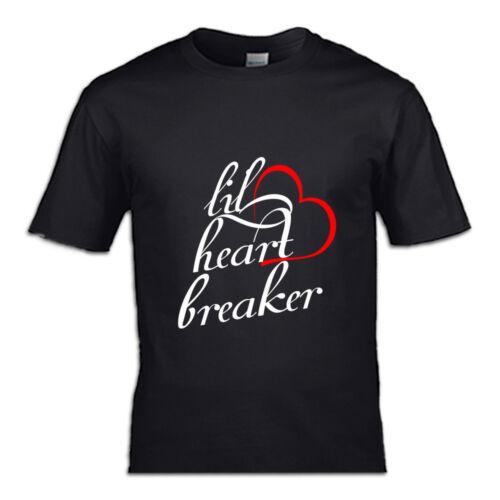 Lil/' heart breaker t-shirt kid valentine day cute love mama is my valentine