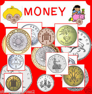 money maths cd primary teaching resources teacher resource ks1 numeracy cd ebay. Black Bedroom Furniture Sets. Home Design Ideas