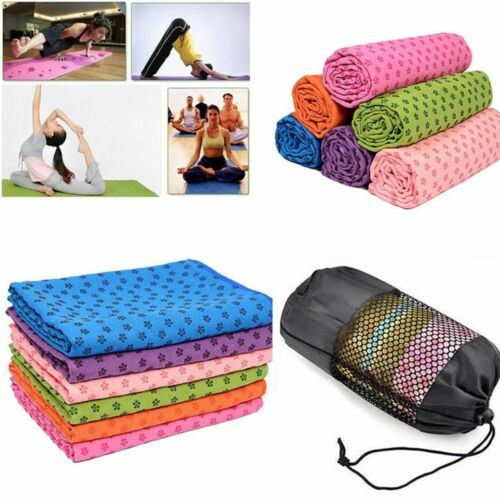 handtuch textilien matte rutschfeste pilates sport resorption yoga
