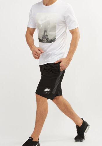 S//M//L//XL//X 928633-010 Nike Sportswear Men/'S Air Black Knee Length Woven Shorts