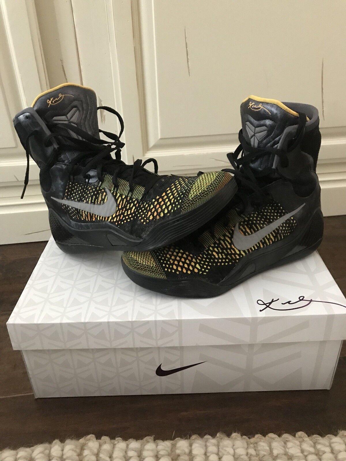 Nike Kobe ix 9 Elite Inspiration, Size 10