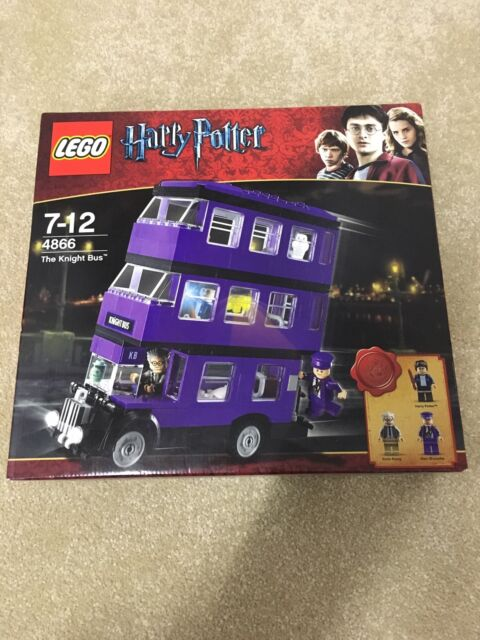 Lego Harry Potter The Knight Bus 4866 Ebay