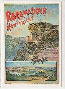 CP Poster Chemins Iron D'Orleans Rocamadour Edit Mic Max 2961