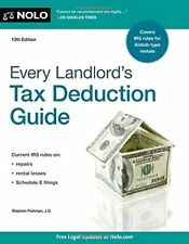 Every Landlord's Tax Deduction Guide by Stephen Fishman (2016, Paperback)