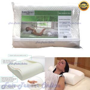 New CoolMax Contour Memory Foam Pillow