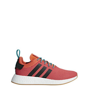sneakers for cheap d9aa4 a1fa8 NEW MEN S ADIDAS NMD R2 SUMMER SHOES CQ3081 TRA ORANGE