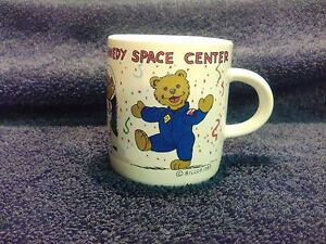Vintage Kennedy Space Center Coffee Mug Cup NASA Astronaut ...