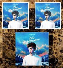 TROYE SIVAN Blue Neighbourhood 2016 Ltd Ed RARE Stickers+FREE Pop Dance Stickers
