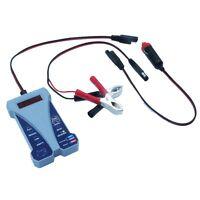 12V Smart Digital Battery Tester Voltmeter Alternator Analyzer with LCD and LED