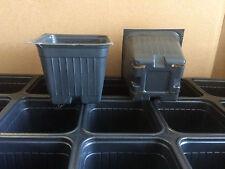 Seed Starter Plastic Flower Nursery Plant Trays Pots -