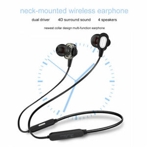 Caricamento dell immagine in corso Magnetico-Bluetooth-V5-0-SENZA-FILI- Cuffie-con- ba16b14b794c