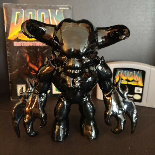 DooM Eternal Baron of Hell Collectible 3D Printed in Black ABS 5.5 Inches Tall