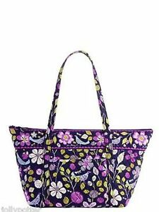 Image is loading Vera-Bradley-Miller-Bag-Purse-Tote-Travel-Pool- 6b4269a683