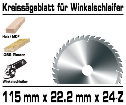 Cercle de scie lame de scie pour 115 mm Angle Meuleuse Meuleuse 24-Dents g00100
