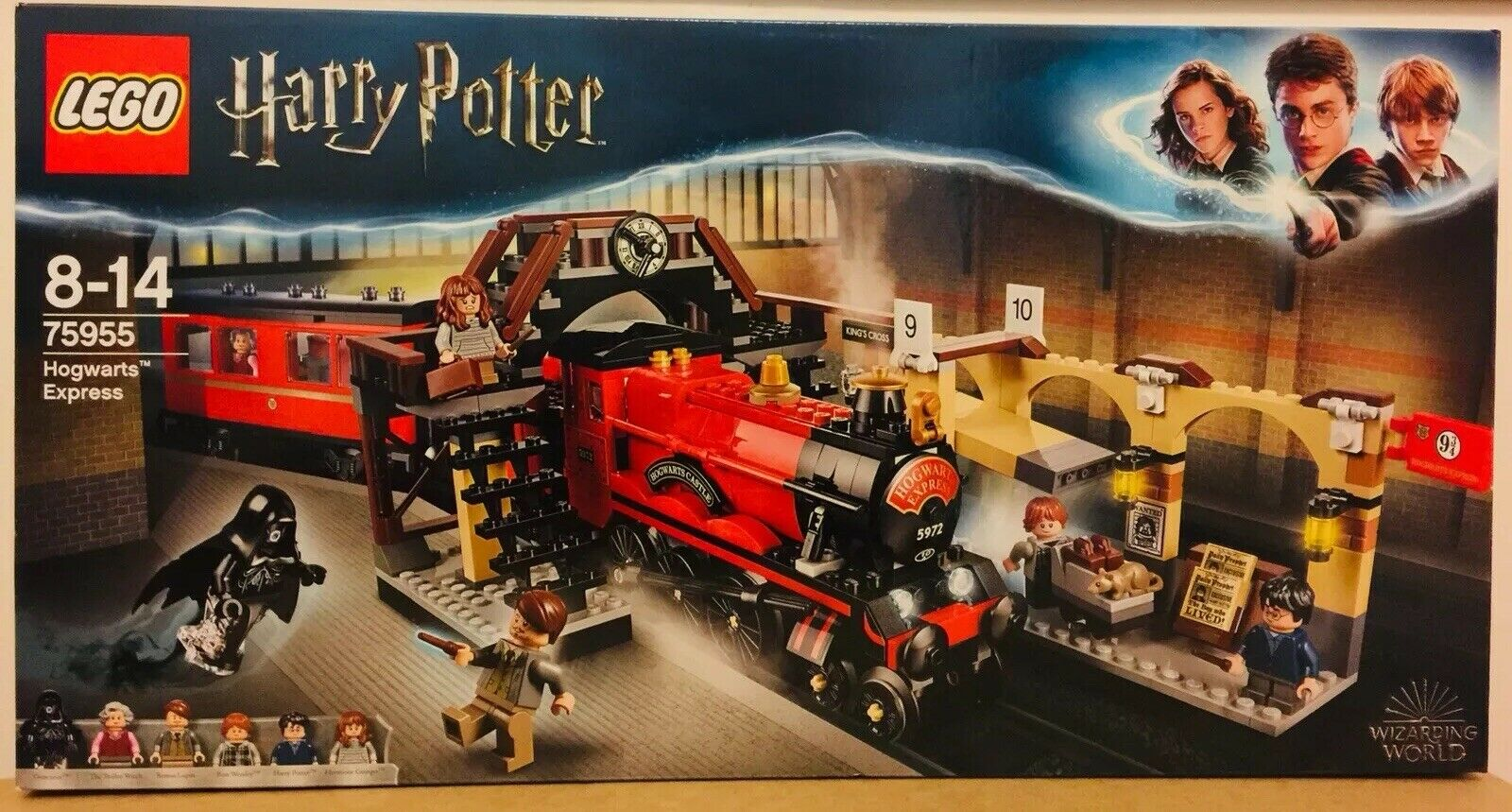 Lego Harry Potter  Hogwarts Express 75955 Recommended Age 8-14 (New Unopened)