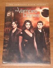 The Vampire Diaries Sixth Season series 6 six DVD sealed 5 disc box set