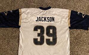 Details about Steven Jackson #39 St. Louis Rams Reebok Mens Football Jersey XL White
