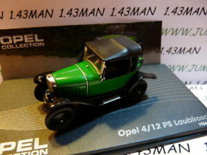 OPE48R-voiture-1-43-IXO-eagle-moss-OPEL-collection-4-12-PS-Laubfrosch