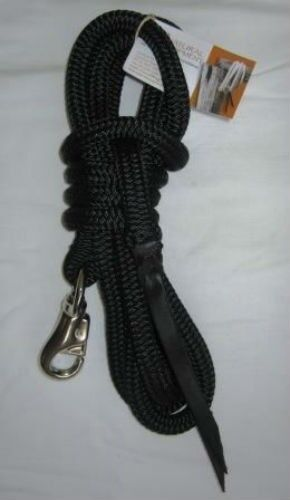 Natural Horsemanship 12ft Lead Rope in 14mm Bull Snap by Natural Equipment