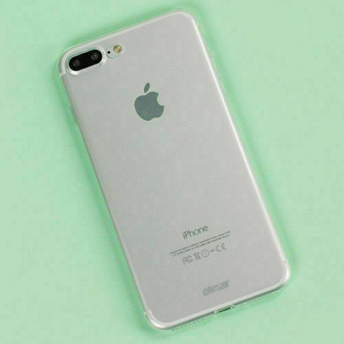 Ultra Thin Slim Soft Lightweight Crystal Clear Back Gel Case for iPhone 7 Plus