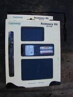 Gateway Accessory Kit Dv- S20 Rechargeable Batteries Charger Tripod Set (new)