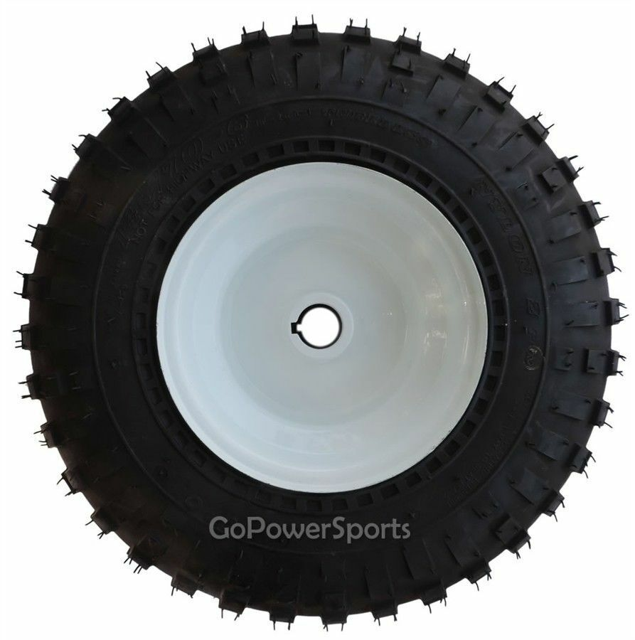Go-Kart Parts, 1  Live Axle Wheel Assembly with 145 70-6 Knobby tires