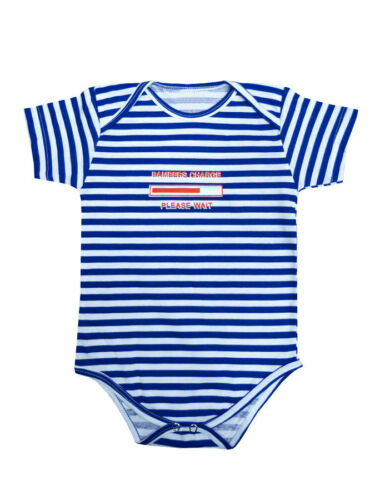 CHARGE 100/%cotton Marine Baby Sailor Bodysuit