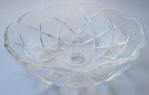 Asfour-Crystal-Lampenschale-Lichtschale-100-mm-10-mm-Loch-5-Bohrungen