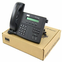 Cisco Cp-7910g 7910 Sccp Unified Voip Ip Telephone Phone Poe - - Yr Warranty
