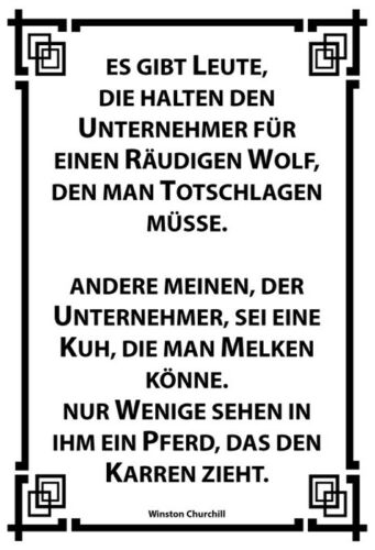 Winston Churchill Blechschild Schild gewölbt Tin Sign 20 x 30 cm Unternehmer ..