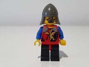 LEGO DRAGON KNIGHTS BLACK RED LEGS BLACK DK GREY NECK PROTECTOR cas016 ~ 6079