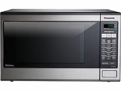 Panasonic Nn Sa651s Family Size 1 2 Cu Ft Microwave Oven