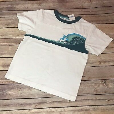 NWT Boy/'s Gymboree Surf Wagon navy blue long sleeve shirt with hood ~ 4 5 7