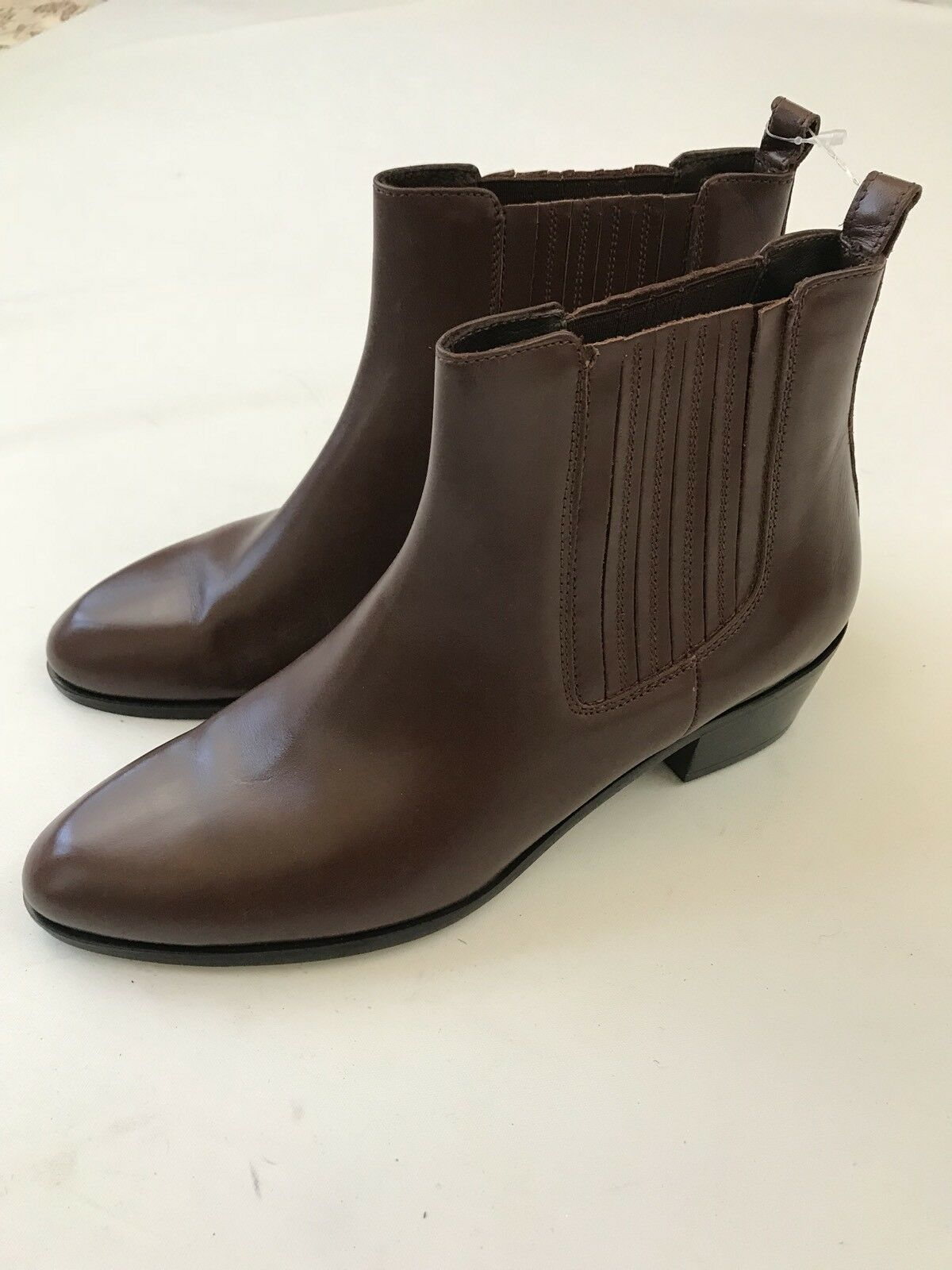 J Crew Chelsea Boot Ankle Boot Womens Booties Brown Size 7 Style 03002 New