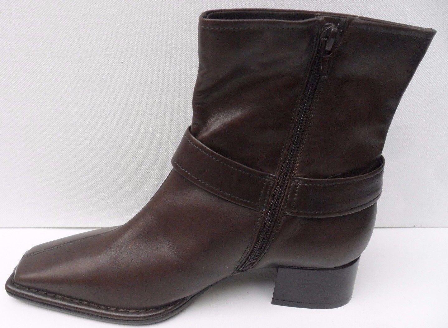 Damenschuhe Lavorazione Artigiana Braun Leder Ankle Stiefel Stiefel Stiefel - Größe UK 5 EEE EUR 38 536931