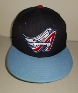 separation shoes 0cfe6 1a9b8 Image is loading California-Angels-New-Era-Cooperstown-Collection-Wool- 59FIFTY-