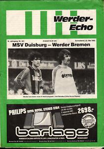 BL-81-82-SV-Werder-Bremen-MSV-Duisburg-22-05-1982-Uwe-Reinders-Bruno-Pezzey