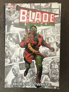 Blade-The-Vampire-Slayer-TPB-Black-amp-White-Marv-Wolfman-Christ-Claremont