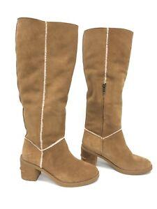 f8eda8a063f Details about UGG Australia Kasen II Tall Suede Knee High Boot 1095052  Chestnut Women's 9.5