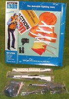 Vintage Action Man 40th Carded/boxed Navy Attack W/ Helmet .30 Cal M1 Garand Etc