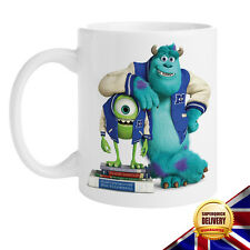 Monsters Inc University Mike Wazowski & Sulley Ceramic Mug Cup Gift