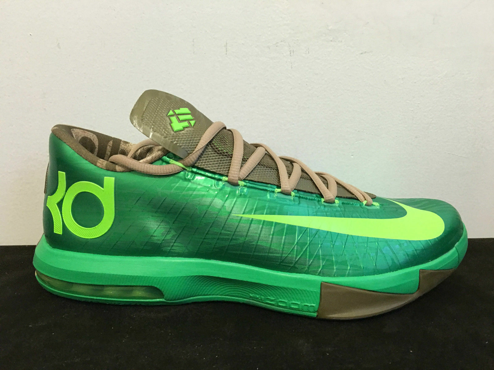 Nike KD VI 6 BAMBOO 11.5 US Gamma Green Aunt Pearl What The MVP Kevin Durant