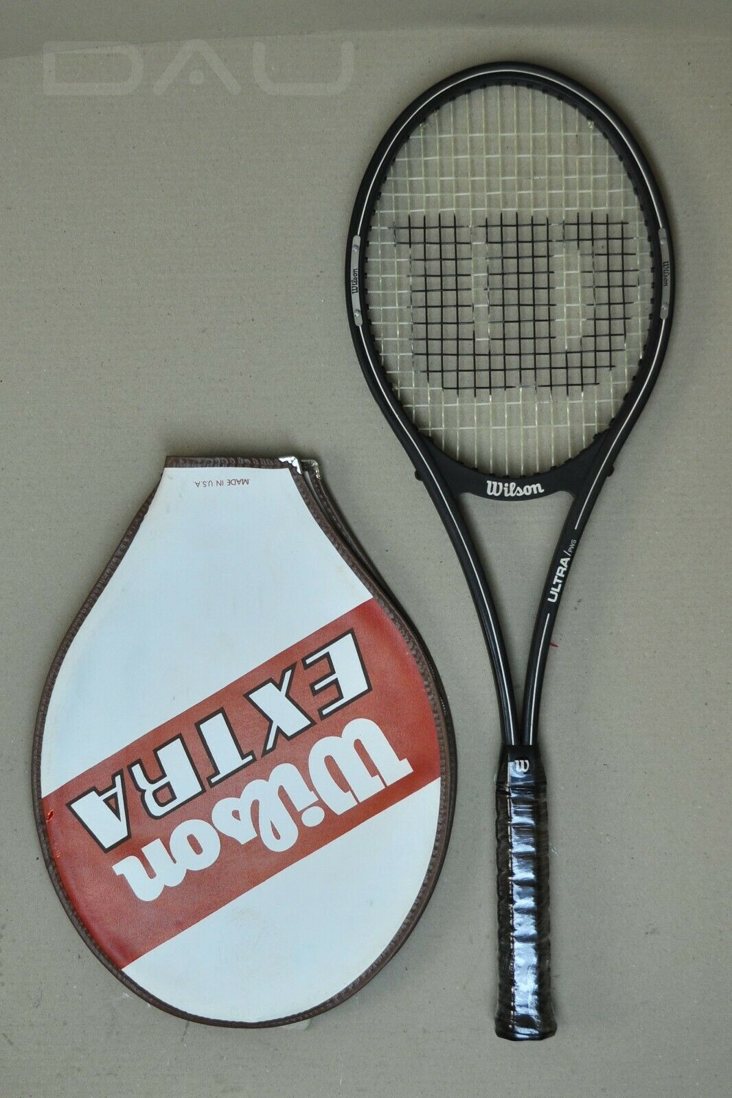 Vintage  WILSON Ultra  the first PWS racket in bag EXCELLENT