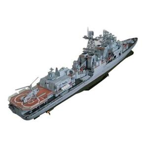 Paper Craft 1:200 Admiral Levchenko Anti-submarine Destroyer Ship Missile W1N4