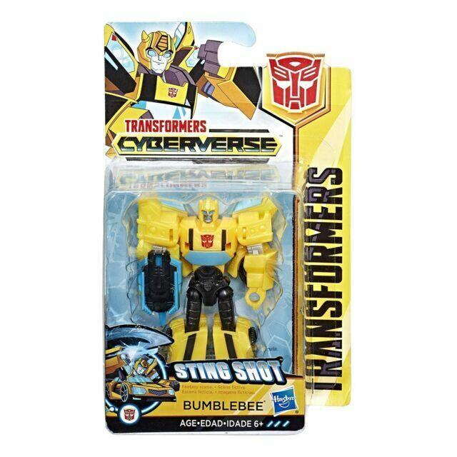 Transformers Cyberverse Bumblebee Scout Action Figure Sting Shot NIB