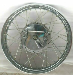 ROYAL-ENFIELD-COMPLETE-FRONT-WHEEL-RIM-19-034-amp-40-HOLES-WITH-DRUM-PLATE